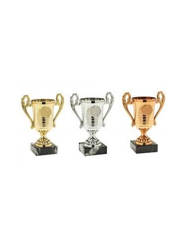 Sportinė taurė 306 14,5 cm bronza - 1
