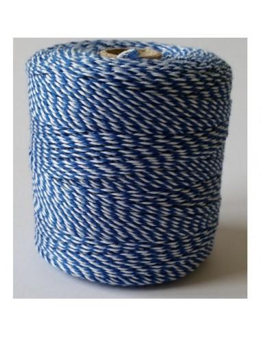 Notariniai siūlai 350 m. margi (mėlyna, balta) - 1