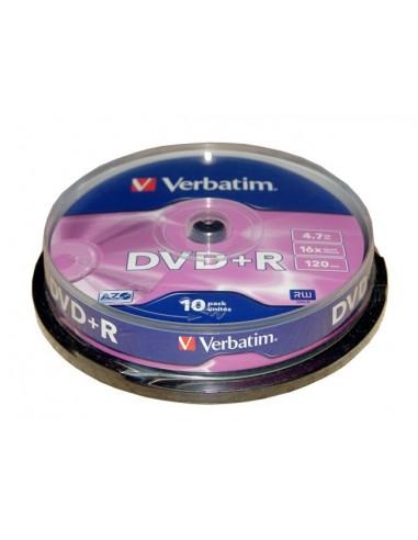 Diskai VERBATIM DVD+R 120min 16x 4.7GB 25 vnt. - 1