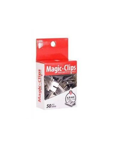Spaustukai MAGIC dokumentų susegėjui 4,8 mm 50 vnt. - 1