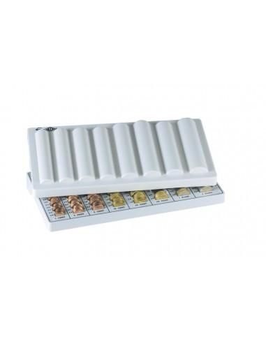 Dėžutė pinigams WEDO Nr. 3 330 x 180 x 45 mm euro monetoms pilkos spalvos - 1