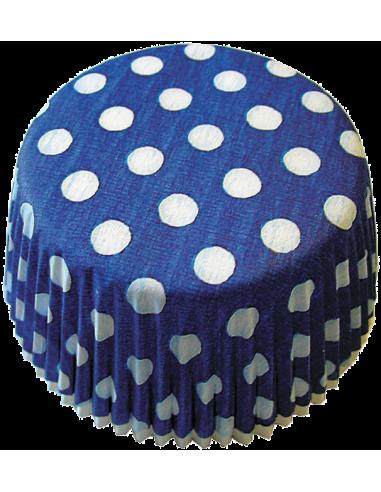 Keksiukų forma Staufen taškeliai mėlyna - balta 50x25 mm 60vnt. - 1