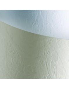 Dekoratyvinis popierius Galeria Papieru Standard Leather White A4 230 gsm baltas - 1