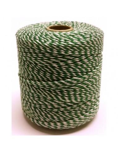 Notariniai siūlai 350 m. margi (žalia, balta) - 1