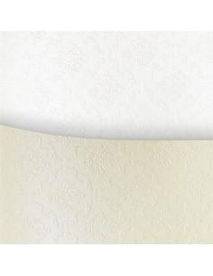 Dekoratyvinis popierius Galeria Papieru Premium Ornament White A4 230 gsm baltas - 1