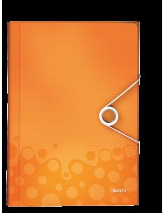 Aplankas kartotekai LEITZ Wow A4 6 skyrių oranžinis - 1