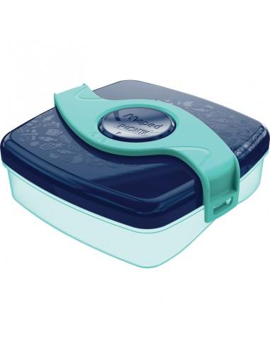 Priešpiečių dėžutė MAPED Picnik Kids Origins 520 ml blue/green - 1