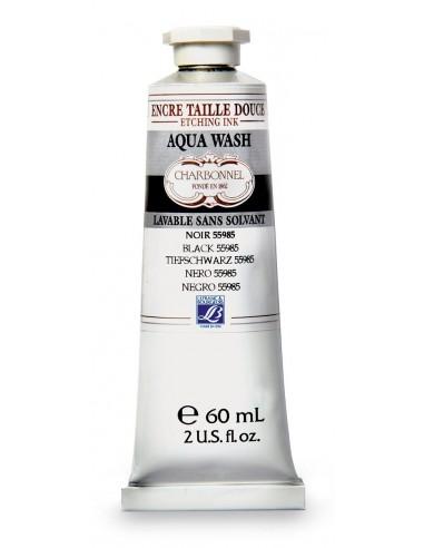 Dažai LEFRANC&BOURGEOIS Aqua Wash 55985 spaudai black 60 ml - 1
