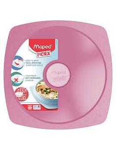 Priešpiečių dėžutė - lėkštė MAPED Picnik Adult Concept 900 ml rožinė - 1