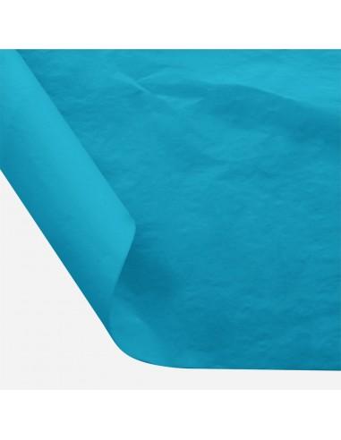 Šilkinis popierius BESTTOTAL Nr. 47 50 x 70 cm 22-23 gr turquoise blue/turkio 30 lapų - 1