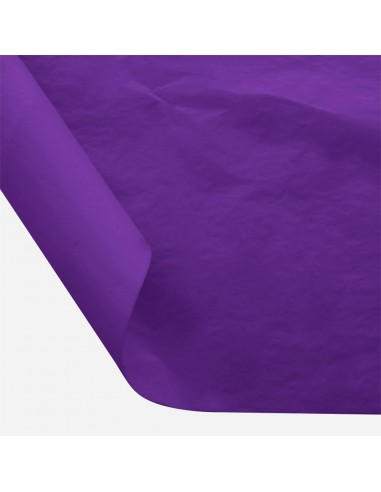Šilkinis popierius BESTTOTAL Nr. 45 50 x 70 cm 22-23 gr plum violet/slyvų violetinė 30 lapų - 1