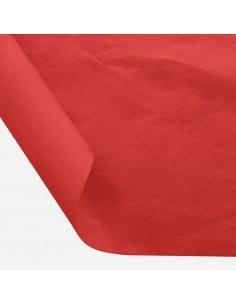 Šilkinis popierius BESTTOTAL Nr. 40 50 x 70 cm 22-23 gr deep red/tamsiai raudona 30 lapų - 1