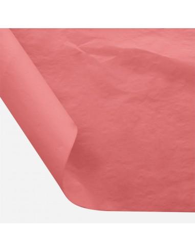 Šilkinis popierius BESTTOTAL Nr. 38 50 x 70 cm 22-23 gr rose red/raudona 30 lapų - 1