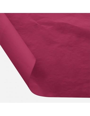 Šilkinis popierius BESTTOTAL Nr. 37 50 x 70 cm 22-23 gr maroon/kaštoninė 30 lapų - 1