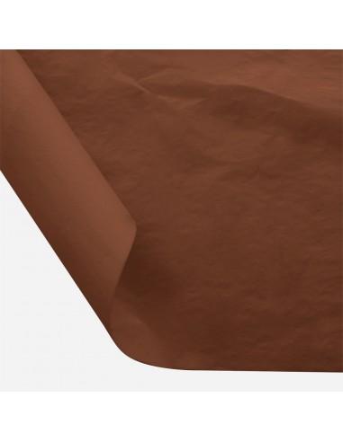 Šilkinis popierius BESTTOTAL Nr. 34 50 x 70 cm 22-23 gr brown/ruda 30 lapų - 1