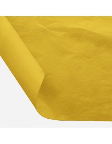 Šilkinis popierius BESTTOTAL Nr. 16 50 x 70 cm 22-23 gr very deep yellow/tamsiai geltona 30 lapų - 1