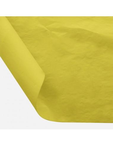 Šilkinis popierius BESTTOTAL Nr. 11 50 x 70 cm 22-23 gr banana yellow/bananinė 30 lapų - 1