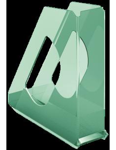 Stovas dokumentams ESSELTE Colour'Ice plastikinis skaidrus žalias - 1