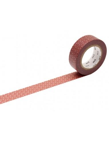 Lipni dekoratyvinė juostelė MT 1P deco 15 mm x 10 m kumikikkou bengala - 1