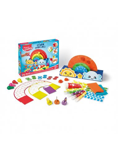 Meistravimo rinkinys MAPED Creativ Early Age Color Emotions - 1