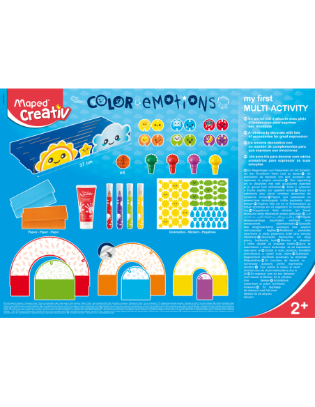 Meistravimo rinkinys MAPED Creativ Early Age Color Emotions - 2