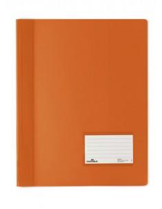 Segtuvėlis DURABLE Duralux A4 plastikinis praplatintas su kišenėle oranžinis - 1