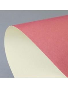 *Dekoratyvinis popierius Galeria Papieru Premium Prime Ruby - Cream A4 dvipusis 220 gsm rubinas - kreminis* - 1
