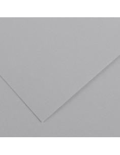 Spalvotas popierius CANSON Vivaldi 35 500 x 650 mm 240 gsm šviesi pilka - 1