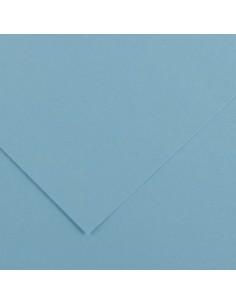 Spalvotas popierius CANSON Vivaldi 20 500 x 650 mm 240 gsm dangaus mėlyna - 1