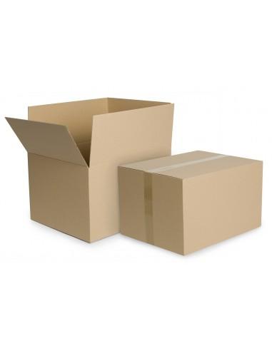 Dėžė 410 x 210 x 260 mm gofruoto kartono ruda - 1