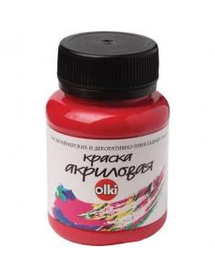 Akriliniai dažai OLKI Raspberry 100 ml. - 1