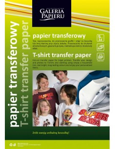 Termo popierius GALERIA PAPIERU A4 šviesiai medžiagai 5 vnt - 1