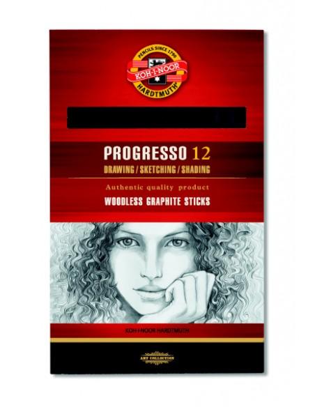 Pieštukas KOH-I-NOOR Progresso be medienos HB - 2