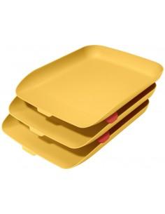 Lentynėlės dokumentams LEITZ Cosy rinkinys šilta geltona 3 vnt. - 1