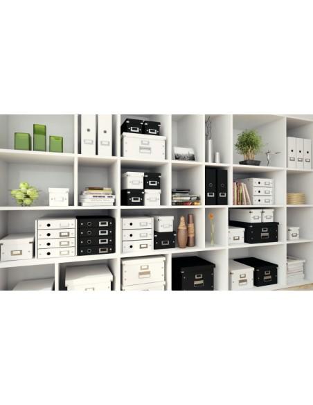 Dokumentų spintelė LEITZ Click & Storage 3 stalčiai 286 x 282 x 358 mm juoda - 3