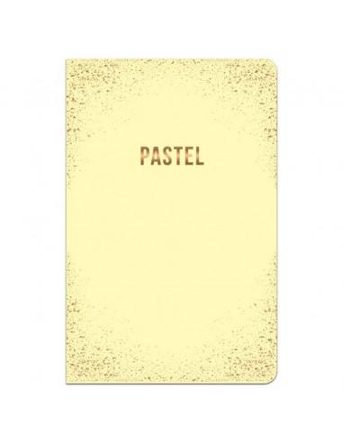 Užrašų knygutė LASTVA Light A6 kietu viršeliu langeliais 96 lapai - 1